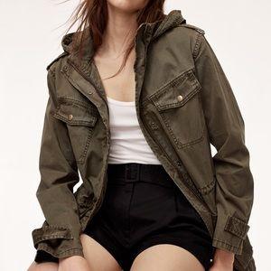 ARITZIA TALULA , Trooper military jacket size sm.